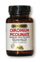 Chromium Picolinate 200 mg (200 capsules)