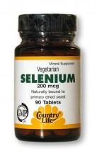 Selenium 200 mcg (90 tablets)